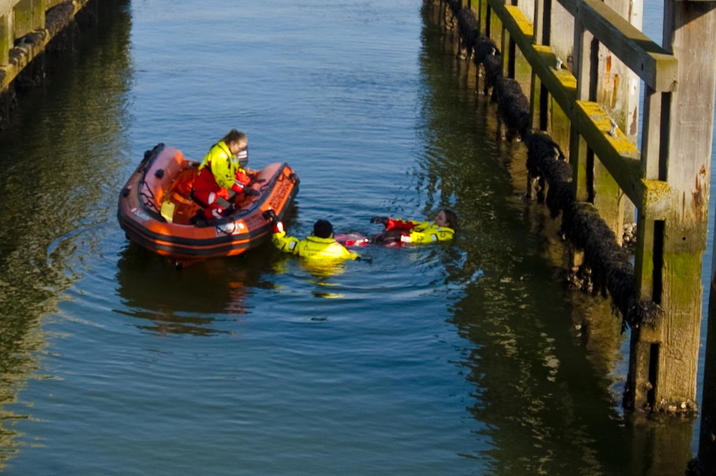 Opleiding Lifeguard Schipper, leer redden met een boot
