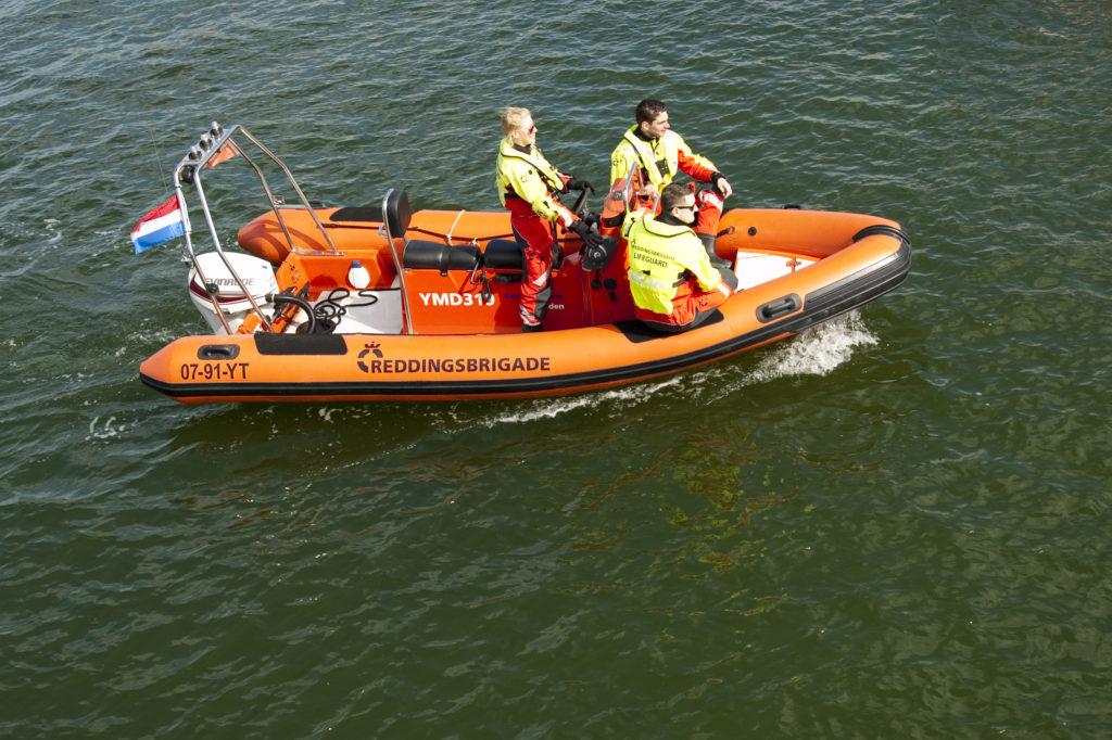 Reddingsbrigadeboot PM500 van Reddingsbrigade IJmuiden