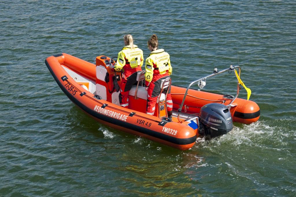 Reddingsbrigadeboot VSR450 IJmuiden