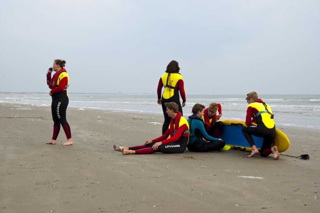 Lifeguard opleiding leidinggeven reddingsbrigade IJmuiden IJRB