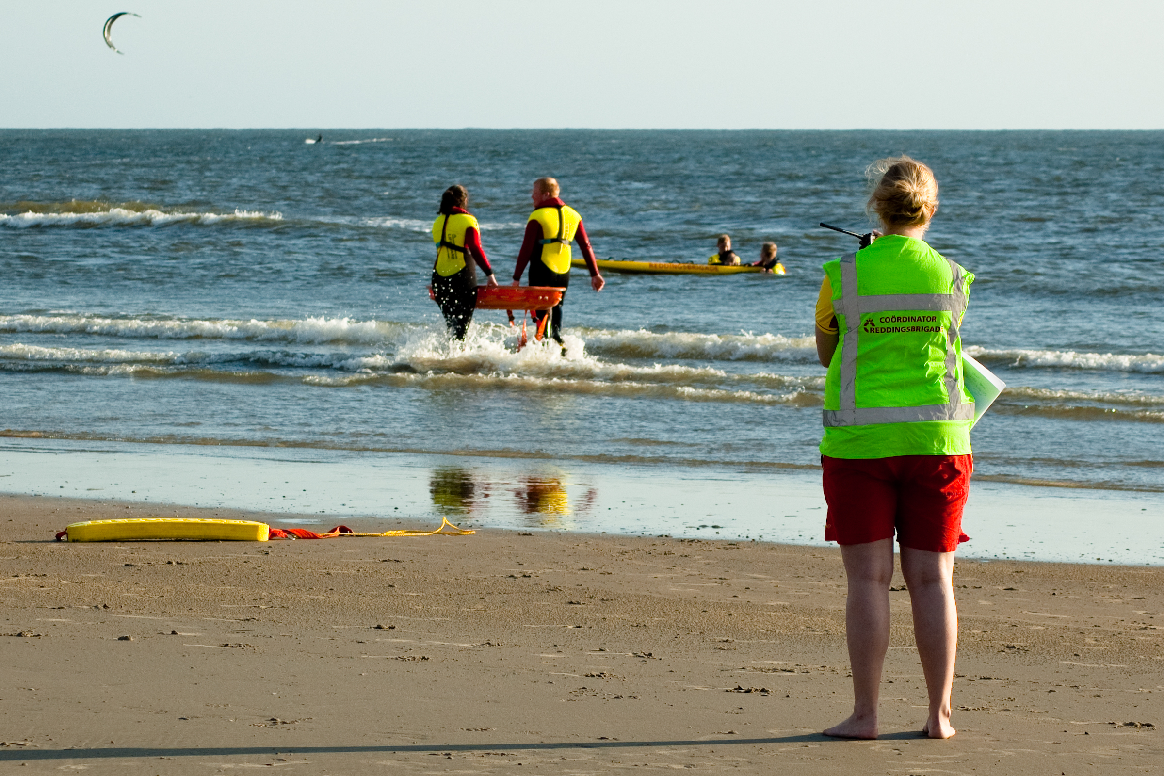 Senior Lifeguard opleiding leidinggeven reddingsbrigade IJmuiden IJRB